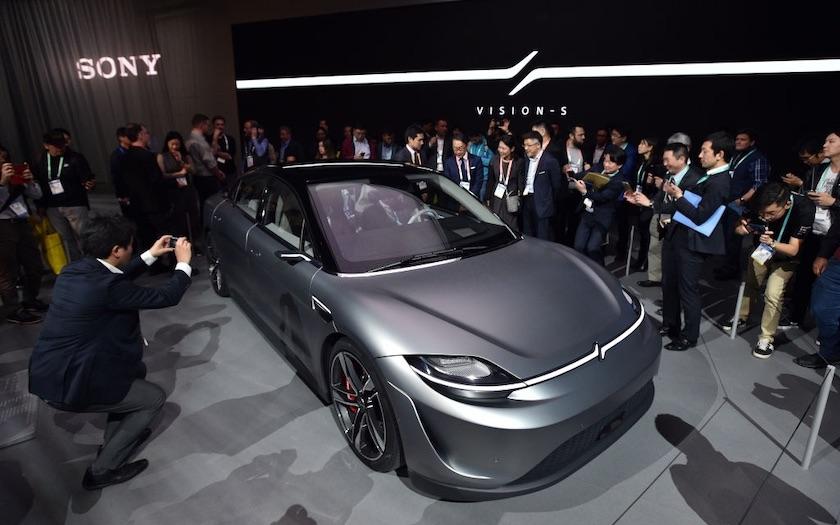 خودروی مفهومی سونی مدل ویژن اس نمایشگاه CES 2020