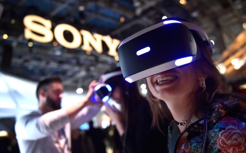 سونی پلی استیشن ۵ وی آر در نمایشگاه CES 2020